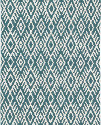 Louis De Poortere alfombras Romo LX 8744 Nahli Kingfisher