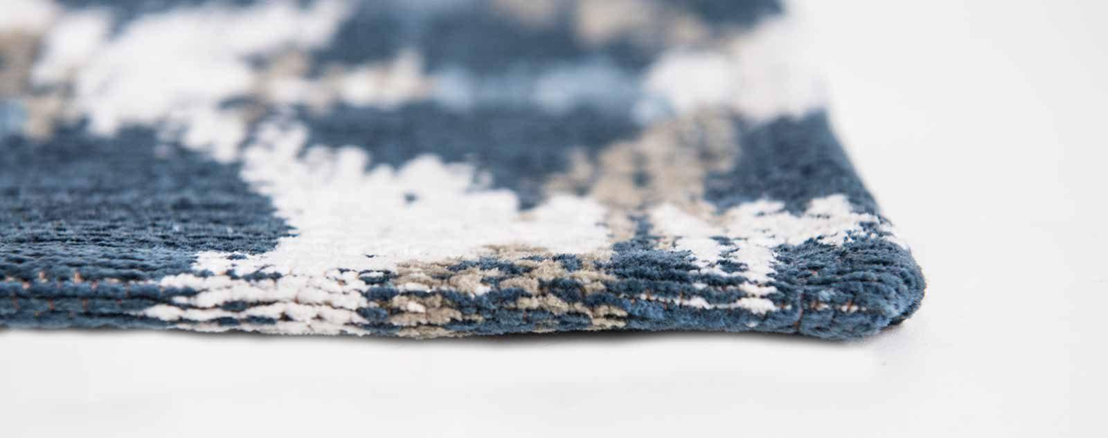 Louis De Poortere alfombras Villa Nova LX 8750 Sudare Indigo side