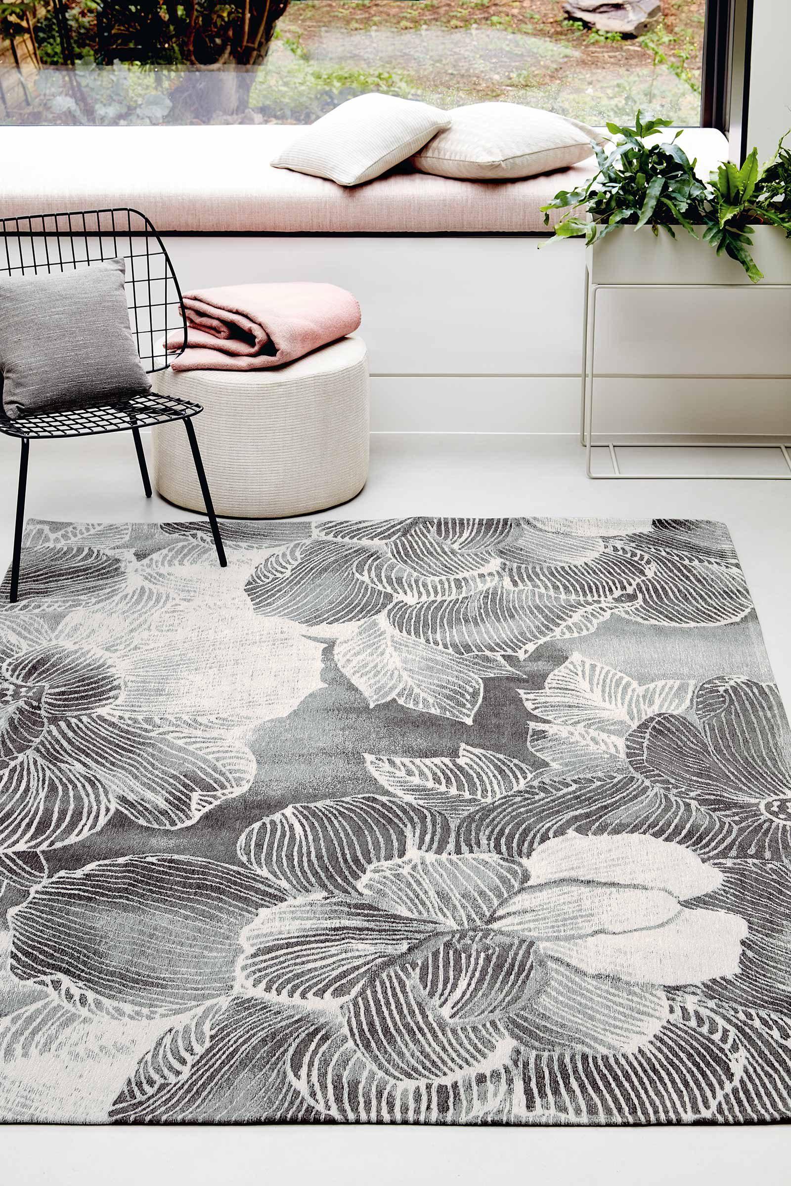 Louis De Poortere alfombras Villa Nova LX 8755 Akina Carbon interior