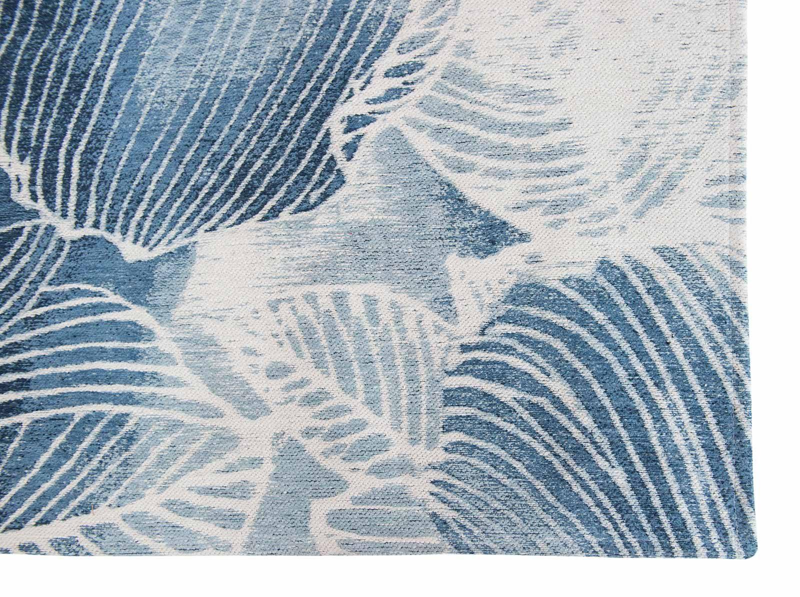 Louis De Poortere alfombras Villa Nova LX 8756 Akina Indigo corner