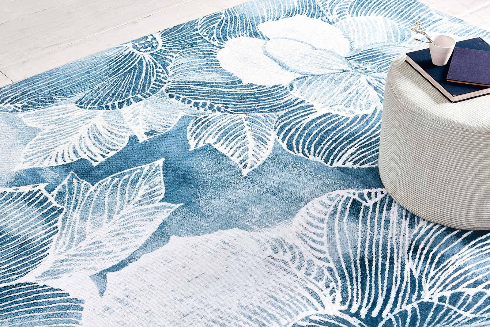 Louis De Poortere alfombras Villa Nova LX 8756 Akina Indigo interior 2