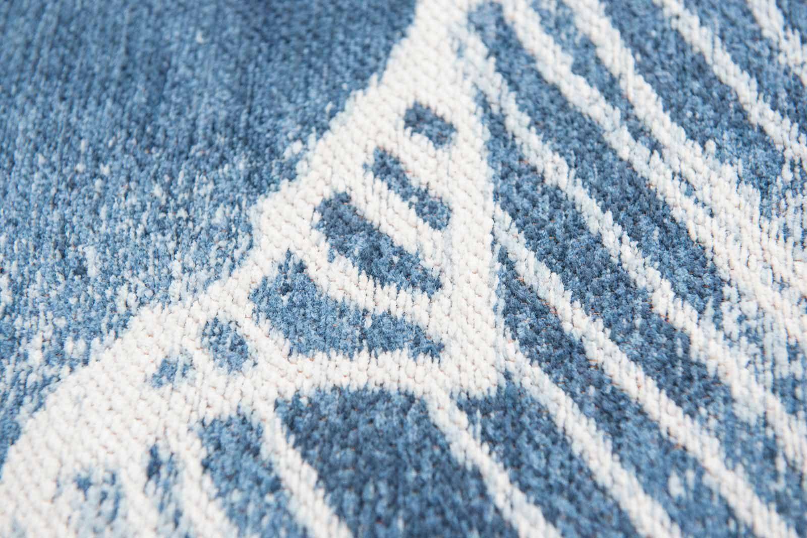 Louis De Poortere alfombras Villa Nova LX 8756 Akina Indigo zoom