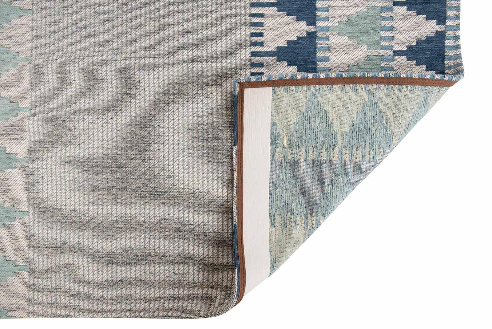 Louis De Poortere alfombras Villa Nova LX 8766 Tobi Teal back