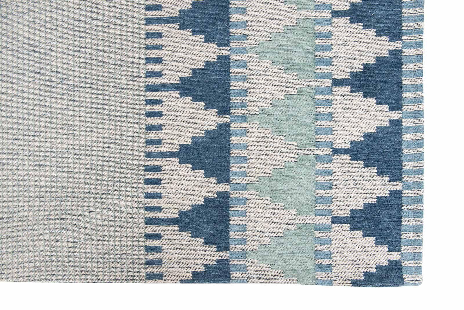 Louis De Poortere alfombras Villa Nova LX 8766 Tobi Teal corner