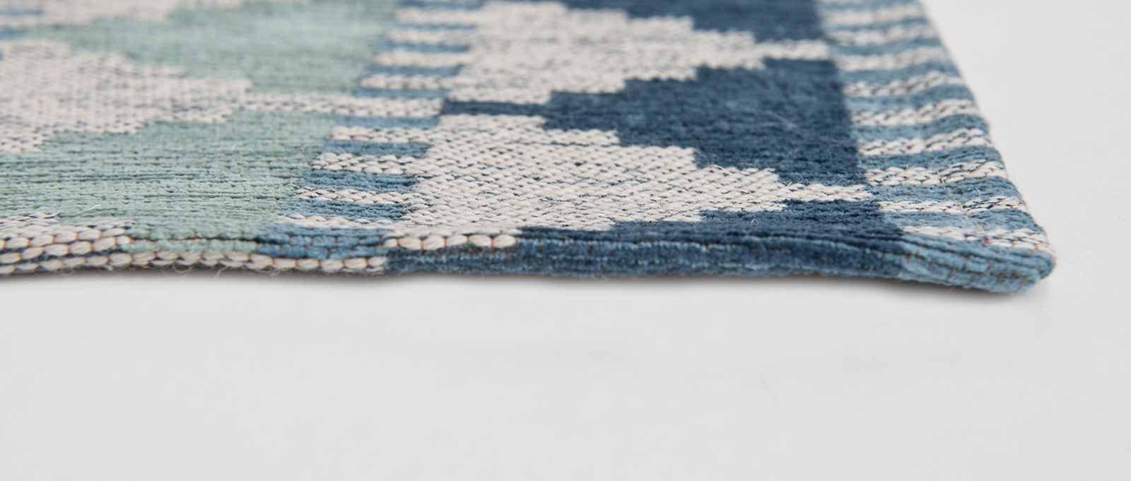 Louis De Poortere alfombras Villa Nova LX 8766 Tobi Teal side