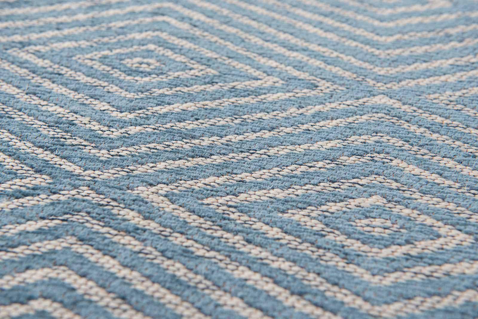Louis De Poortere alfombras Villa Nova LX 8766 Tobi Teal zoom 2