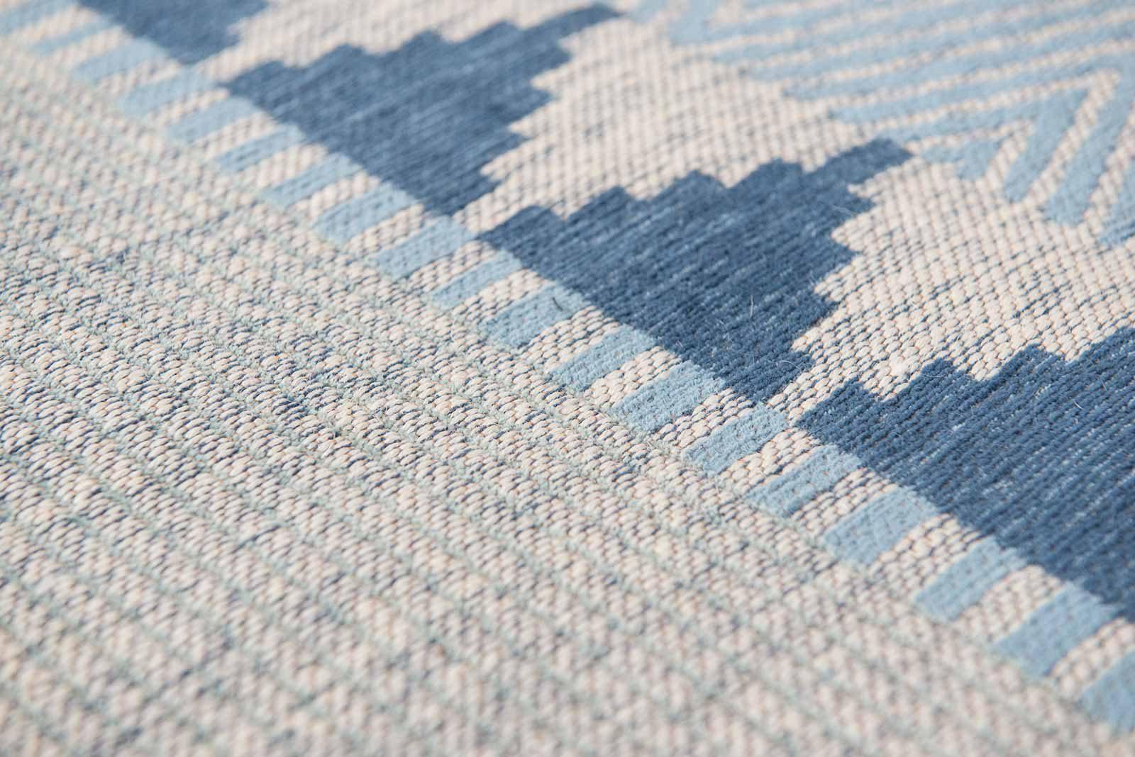 Louis De Poortere alfombras Villa Nova LX 8766 Tobi Teal zoom 3