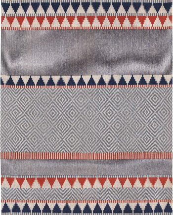 Louis De Poortere alfombras Villa Nova LX 8767 Tobi Indigo Tabasco