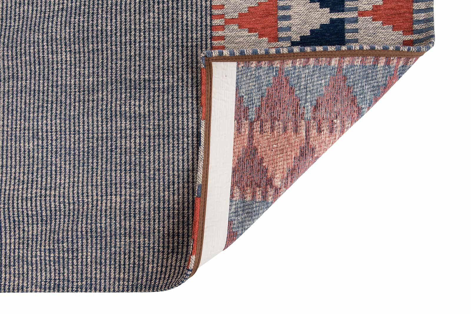 Louis De Poortere alfombras Villa Nova LX 8767 Tobi Indigo Tabasco back