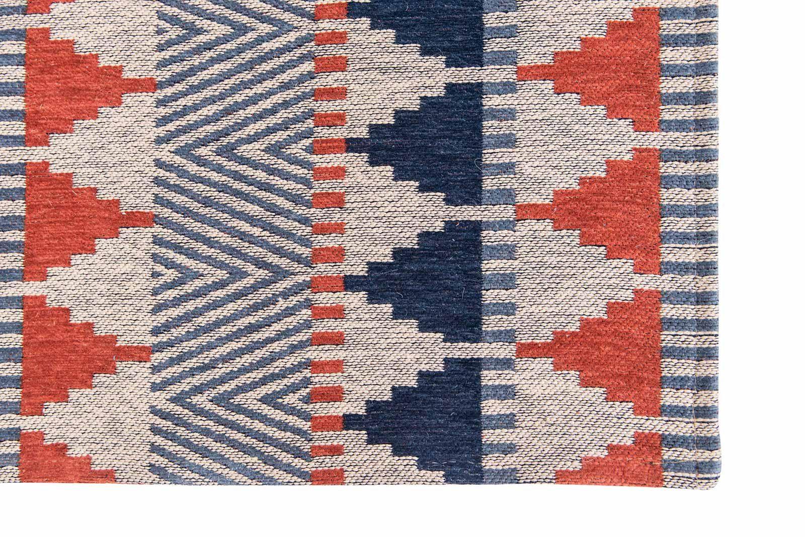 Louis De Poortere alfombras Villa Nova LX 8767 Tobi Indigo Tabasco corner
