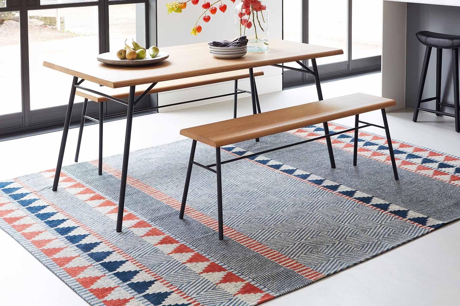 Louis De Poortere alfombras Villa Nova LX 8767 Tobi Indigo Tabasco interior