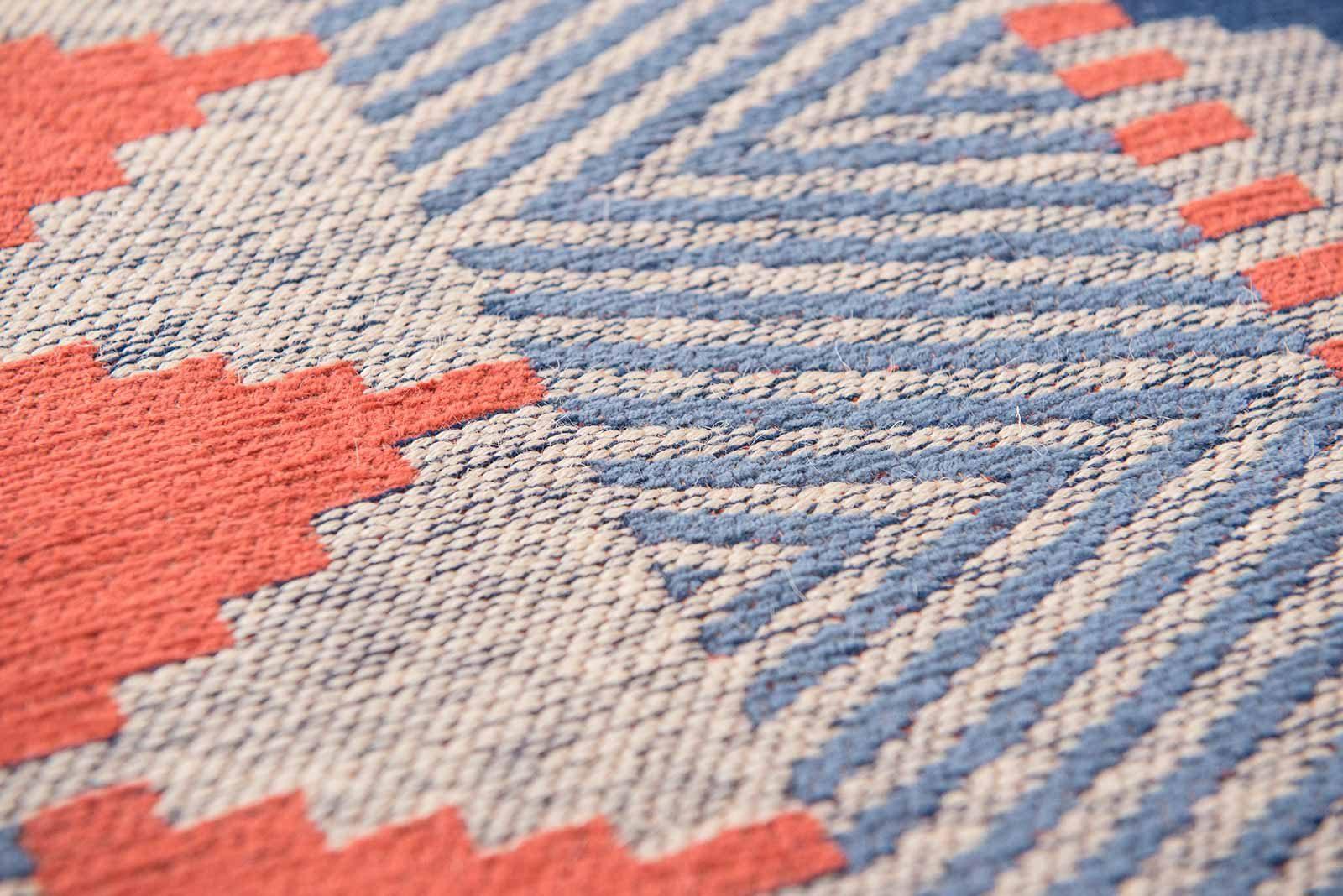 Louis De Poortere alfombras Villa Nova LX 8767 Tobi Indigo Tabasco zoom