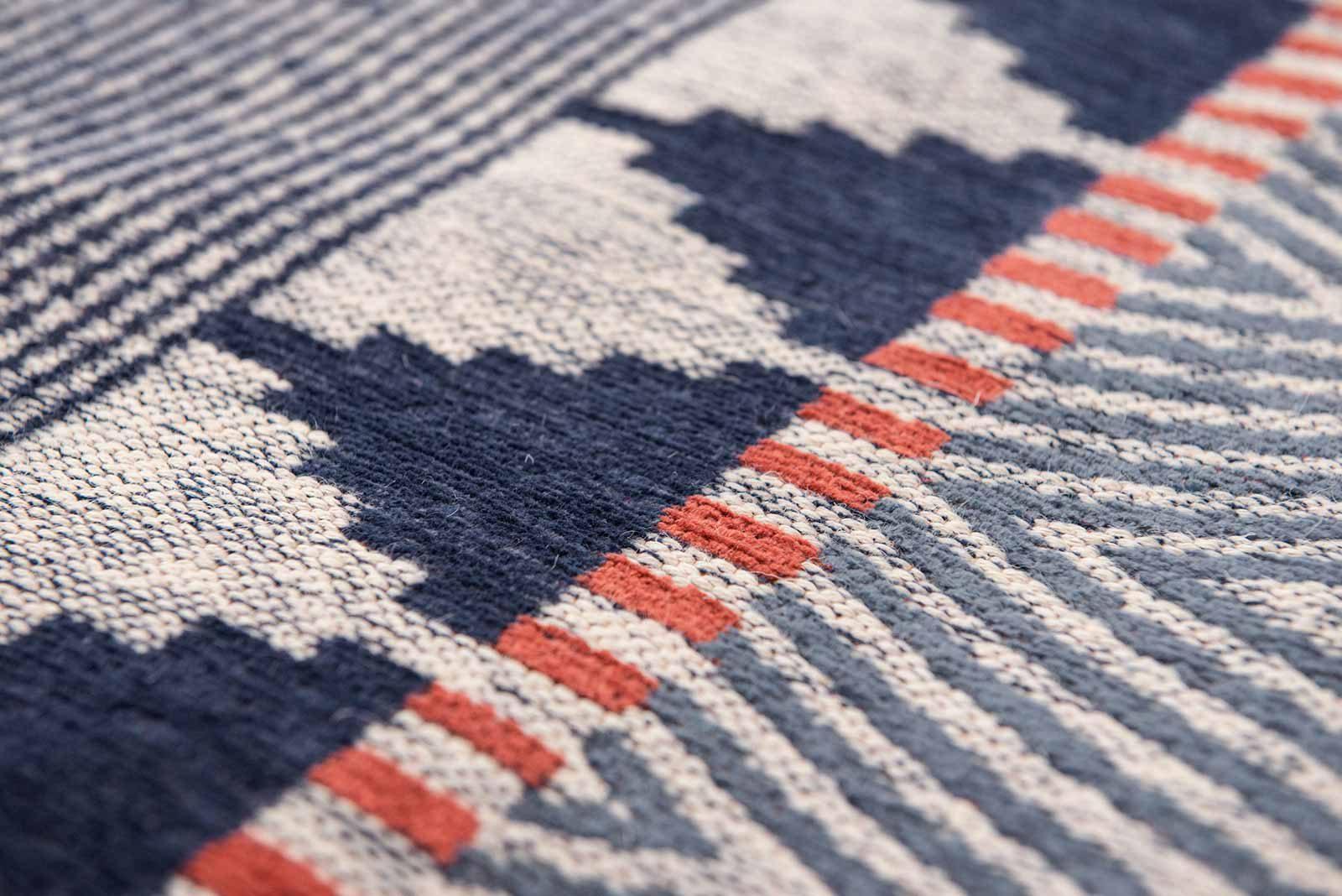 Louis De Poortere alfombras Villa Nova LX 8767 Tobi Indigo Tabasco zoom 2