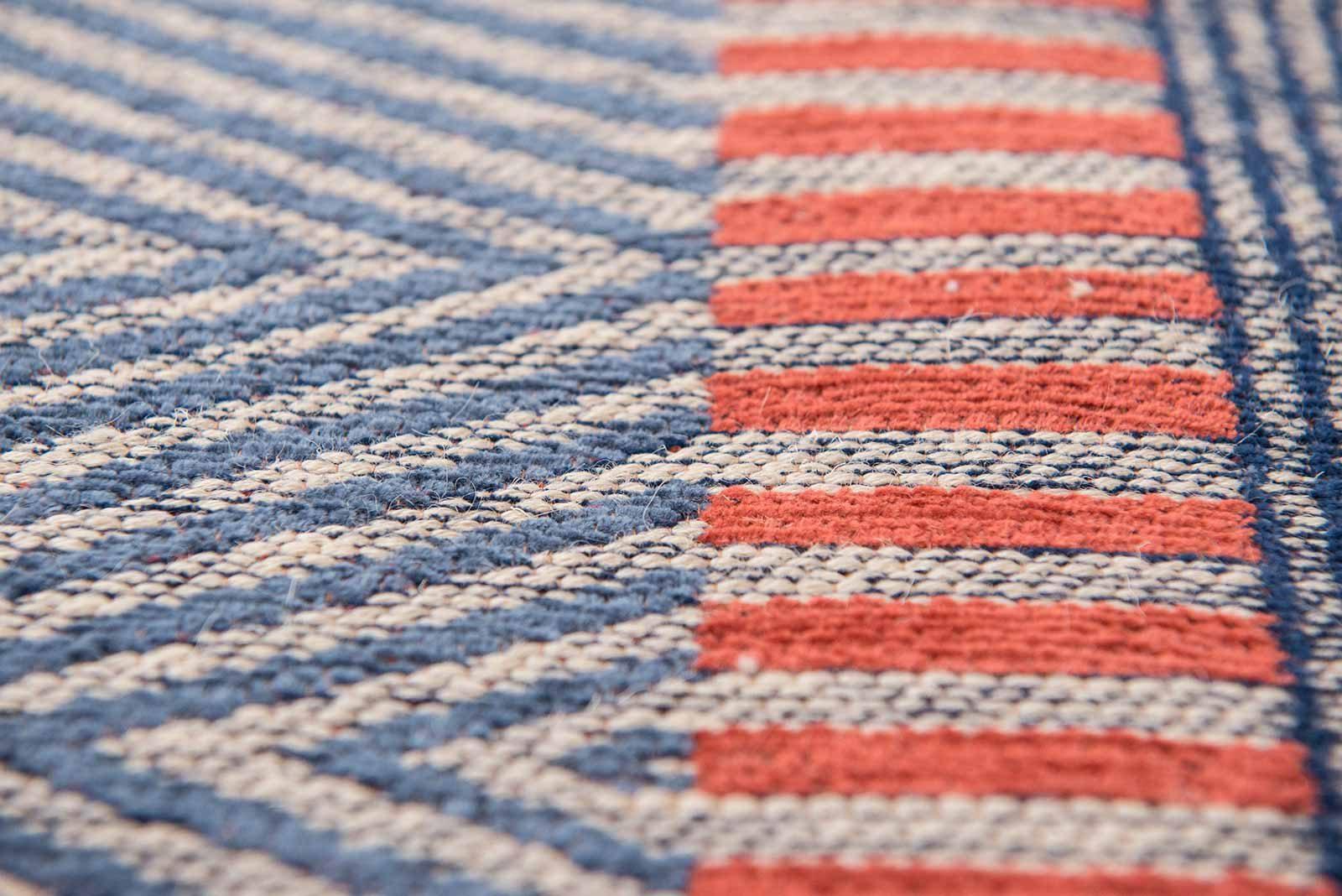 Louis De Poortere alfombras Villa Nova LX 8767 Tobi Indigo Tabasco zoom 4