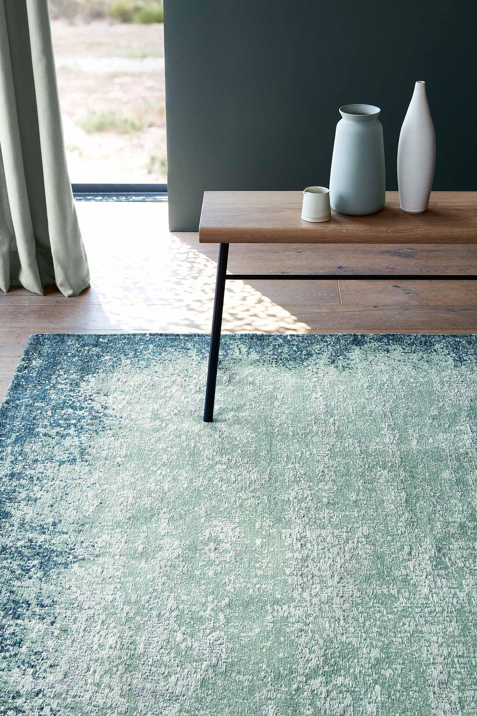 Louis De Poortere alfombras Villa Nova LX 8769 Marka Teal interior