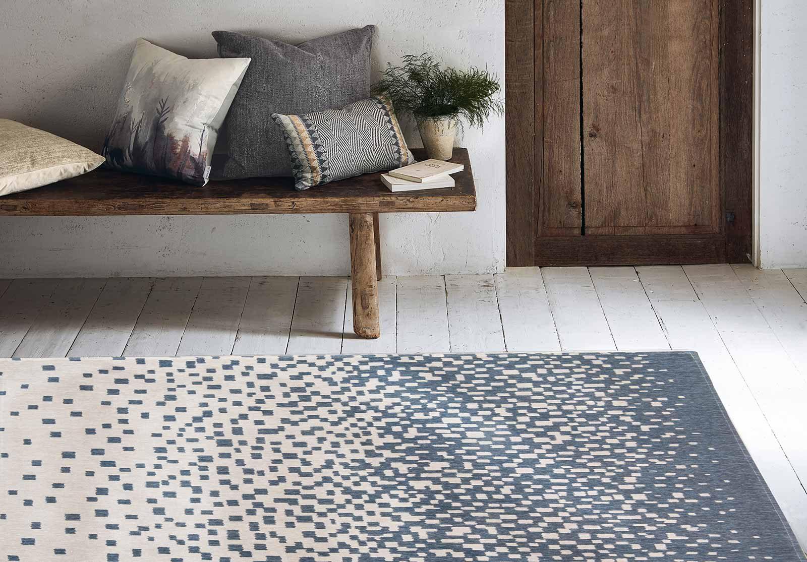 Louis De Poortere alfombras Villa Nova LX 8777 Freyr Indigo interior