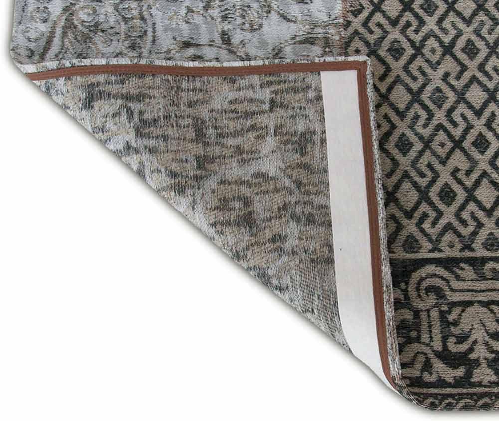 alfombras Louis De Poortere LX8101 Vintage Black White corner