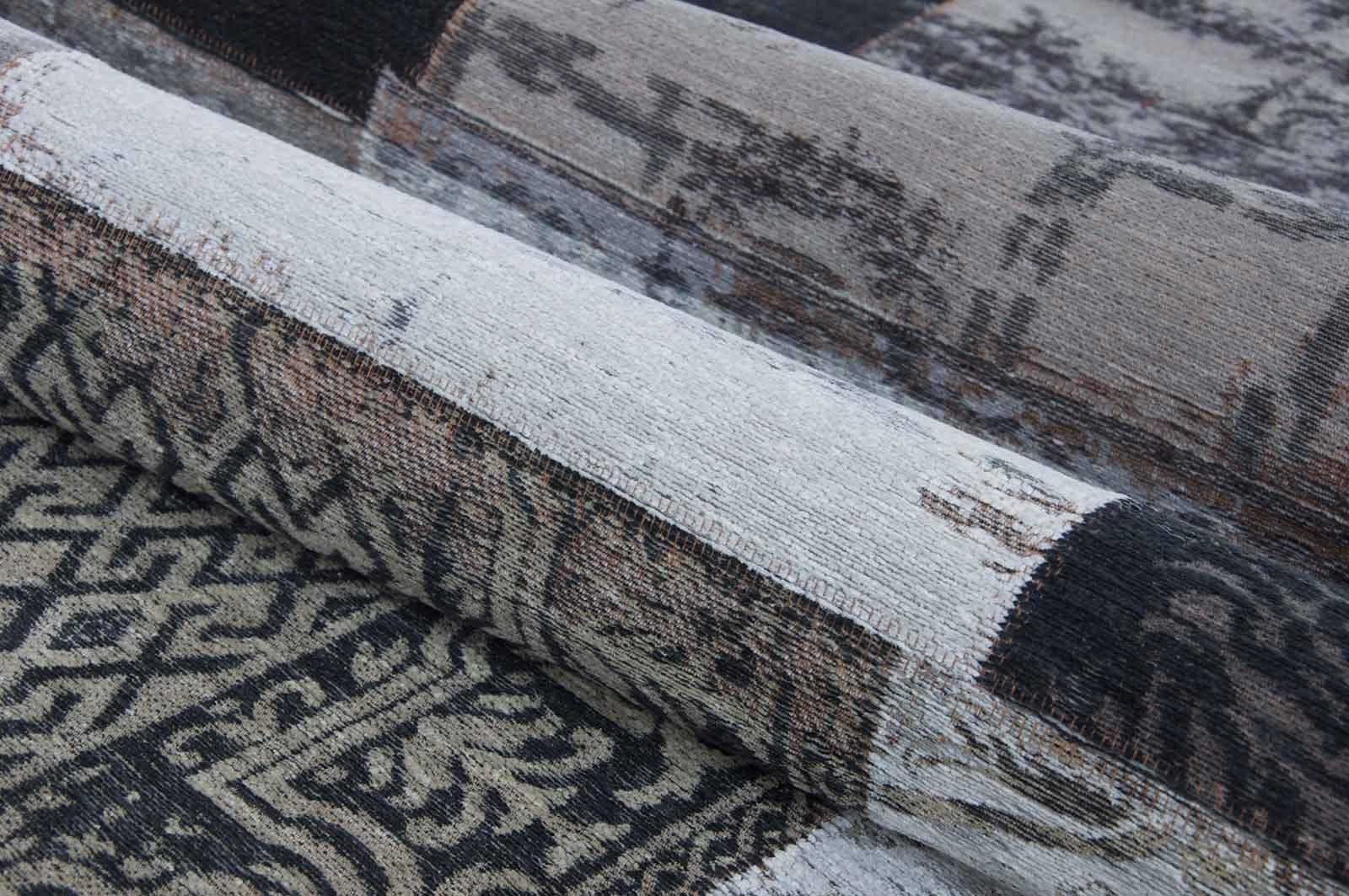 alfombras Louis De Poortere LX8101 Vintage Black White zoom