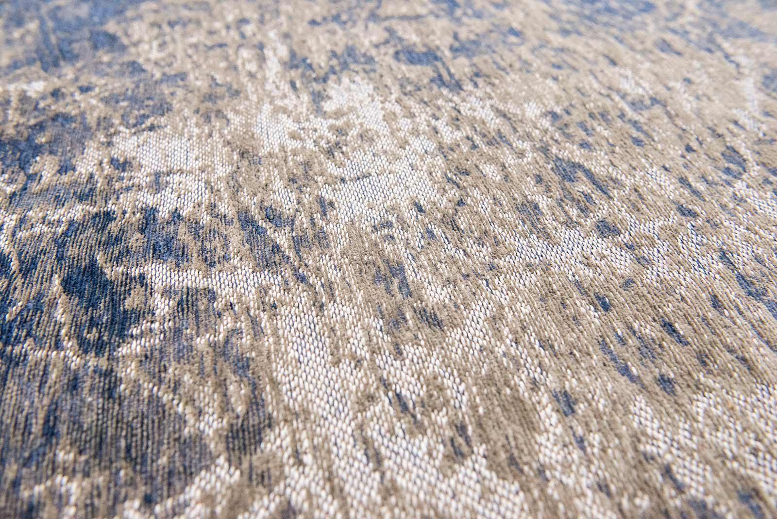 alfombras Louis De Poortere LX8629 Mad Men Cracks Abyss Blue zoom 2