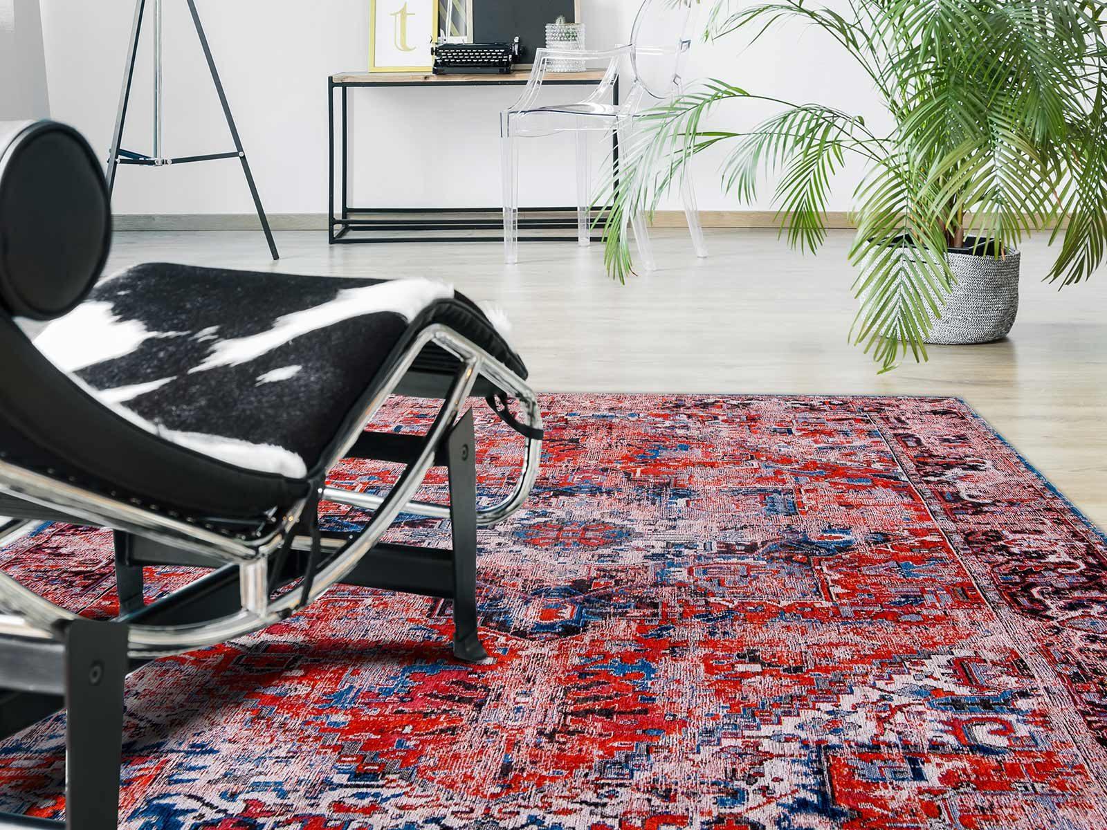 alfombras Louis De Poortere LX8703 Antiquarian Antique Heriz Classic Brick interior