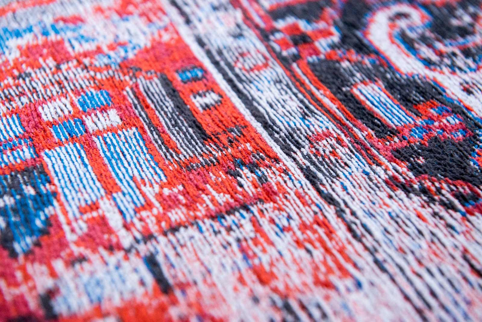 alfombras Louis De Poortere LX8703 Antiquarian Antique Heriz Classic Brick zoom