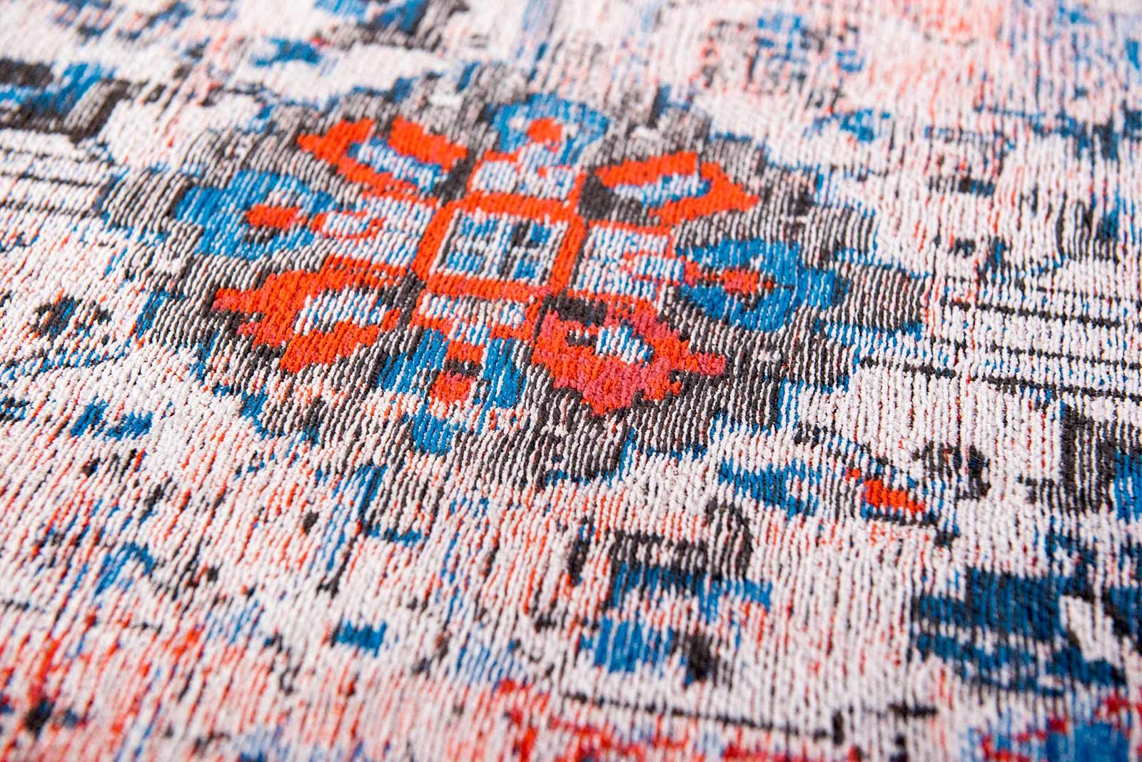 alfombras Louis De Poortere LX8703 Antiquarian Antique Heriz Classic Brick zoom 2