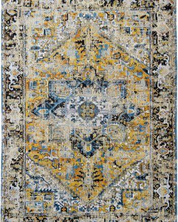 alfombras Louis De Poortere LX8704 Antiquarian Antique Heriz Amir Gold