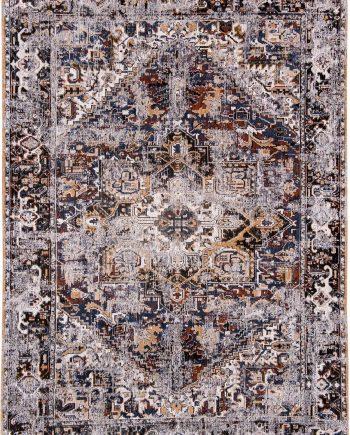 alfombras Louis De Poortere LX8707 Antiquarian Antique Heriz Divan Blue