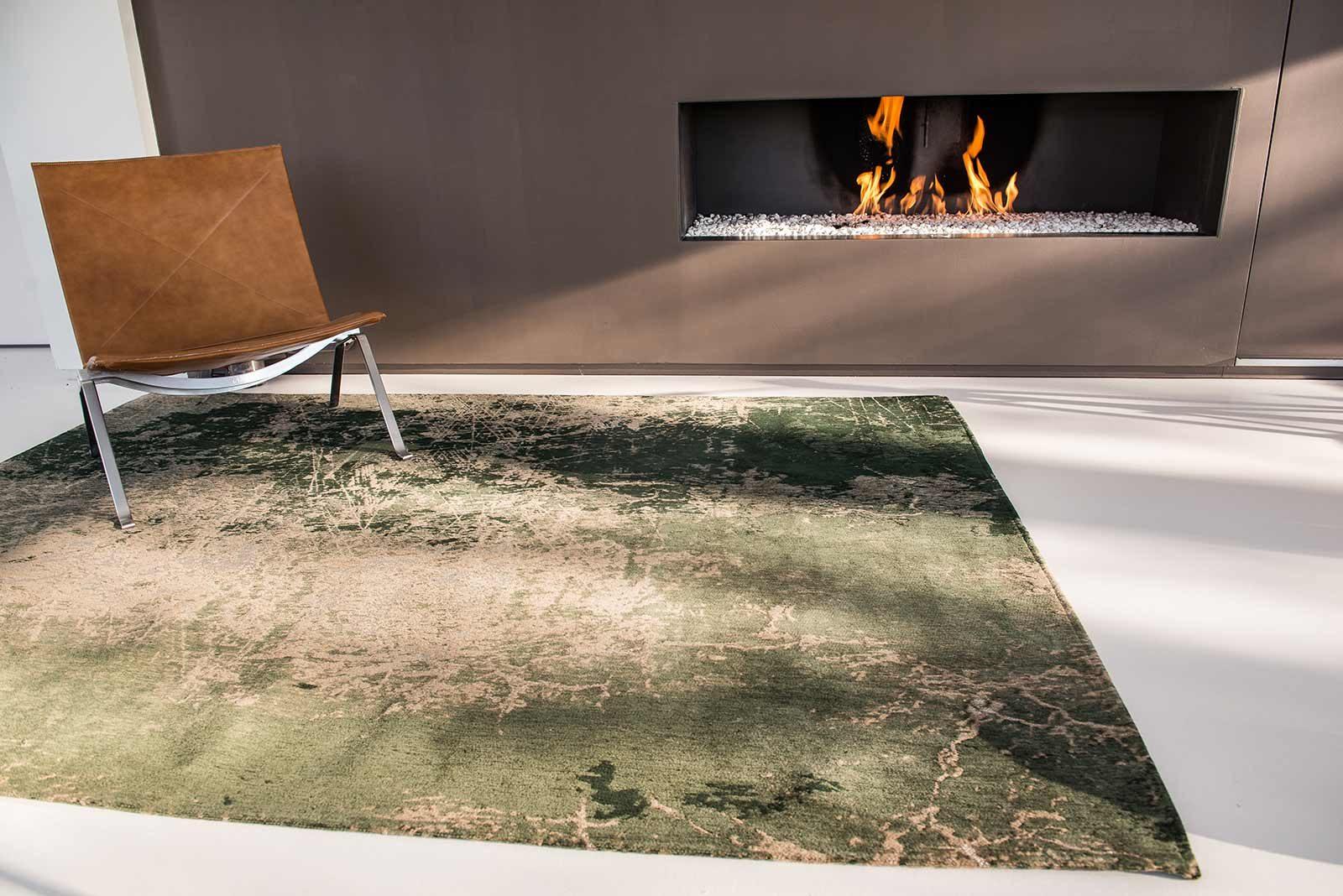 alfombras Louis De Poortere LX8723 Mad Men Cracks Dark Pine interior