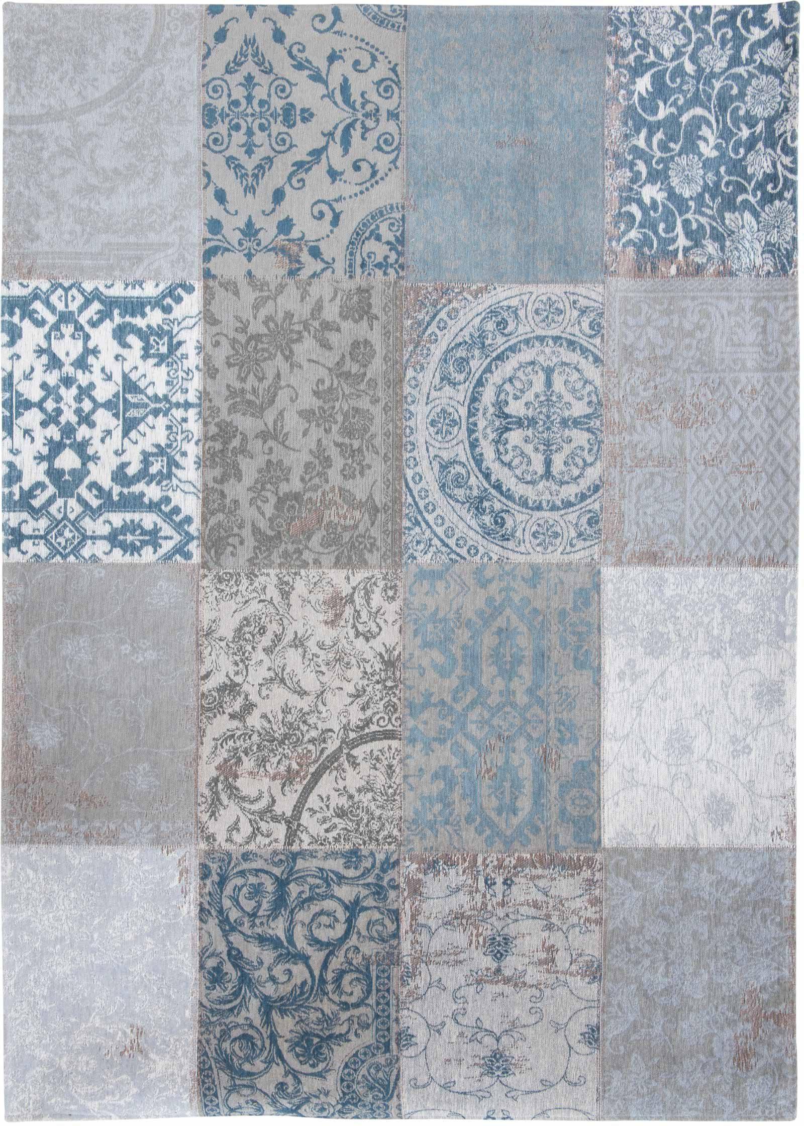 alfombras Louis De Poortere LX8981 Vintage Bruges Blue