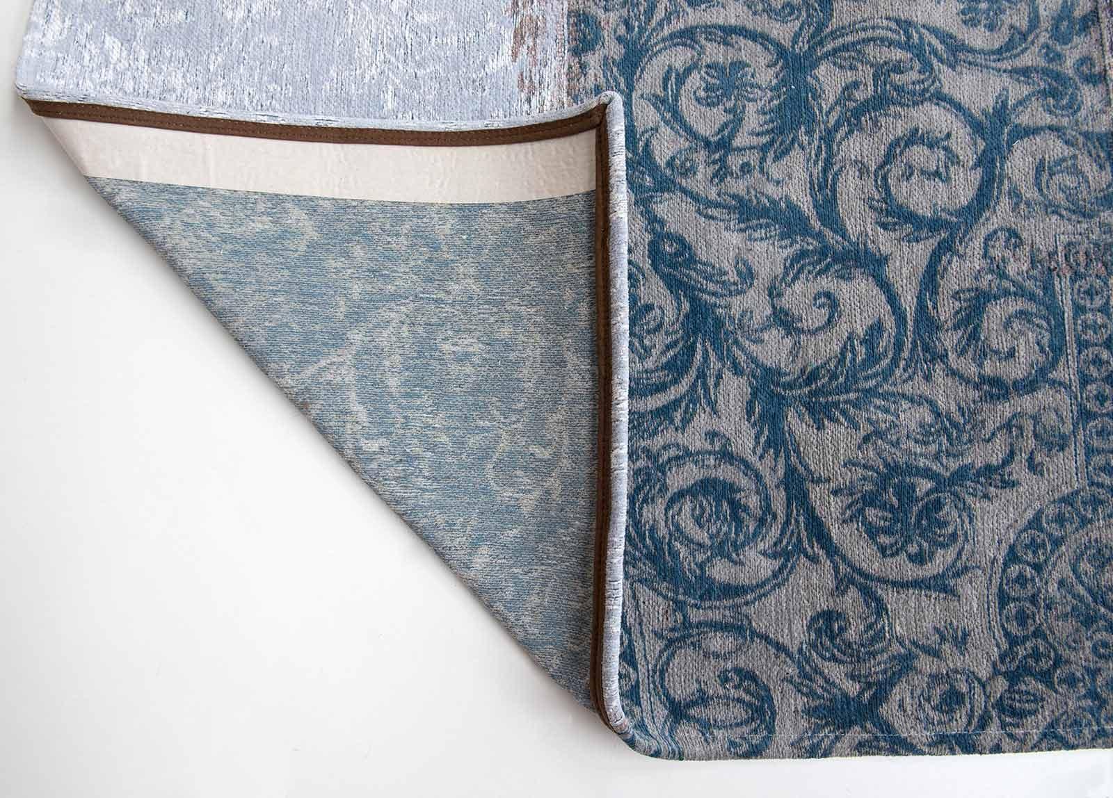 alfombras Louis De Poortere LX8981 Vintage Bruges Blue corner