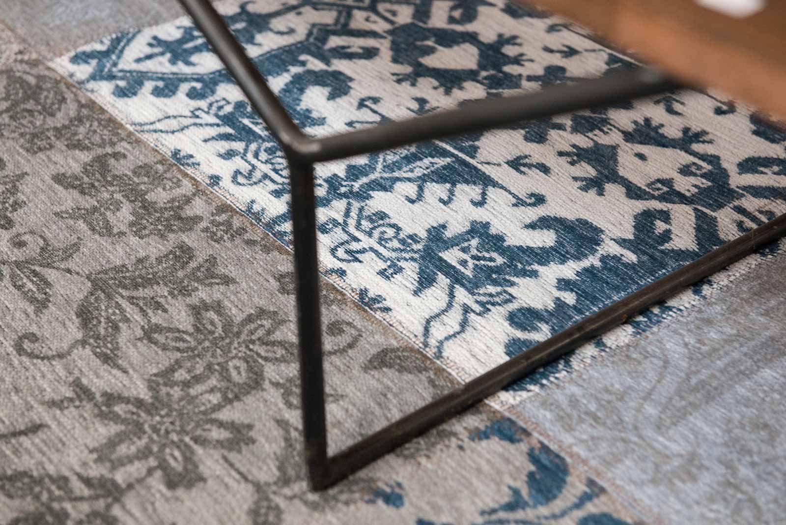alfombras Louis De Poortere LX8981 Vintage Bruges Blue zoom 1