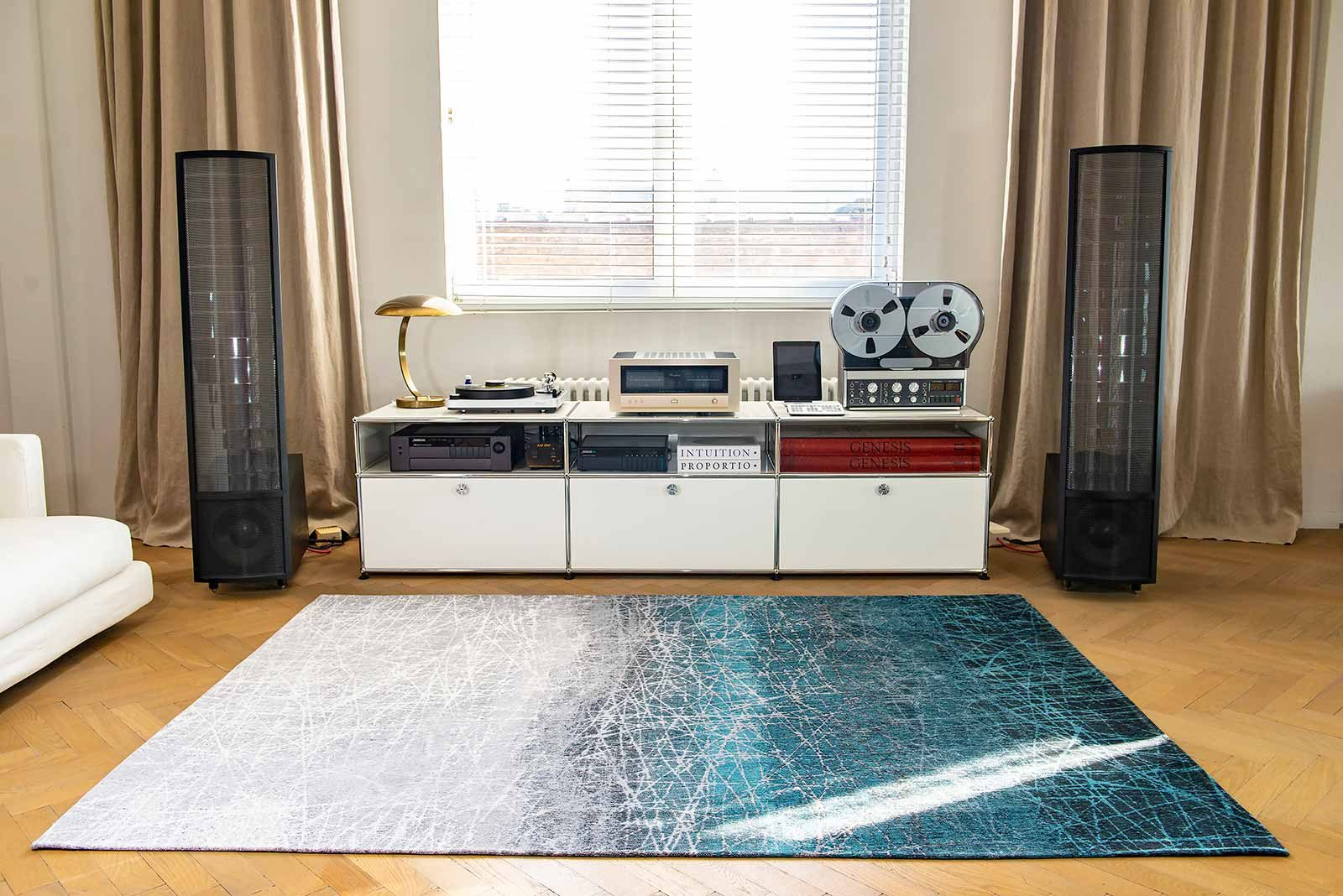 alfombras Louis De Poortere LX 8877 Mad Men Fahrenheit Polar Vortex interior 2