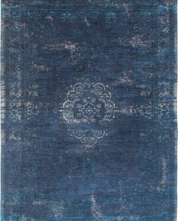 alfombras Louis De Poortere LX8254 Fading World Medaillon Blue Night
