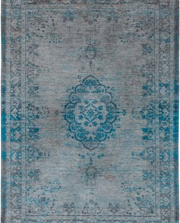 alfombras Louis De Poortere LX8255 Fading World Medaillon Grey Turquoise