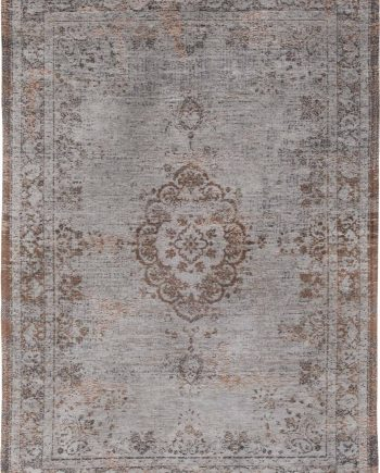 alfombras Louis De Poortere LX8257 Fading World Medaillon Grey Ebony