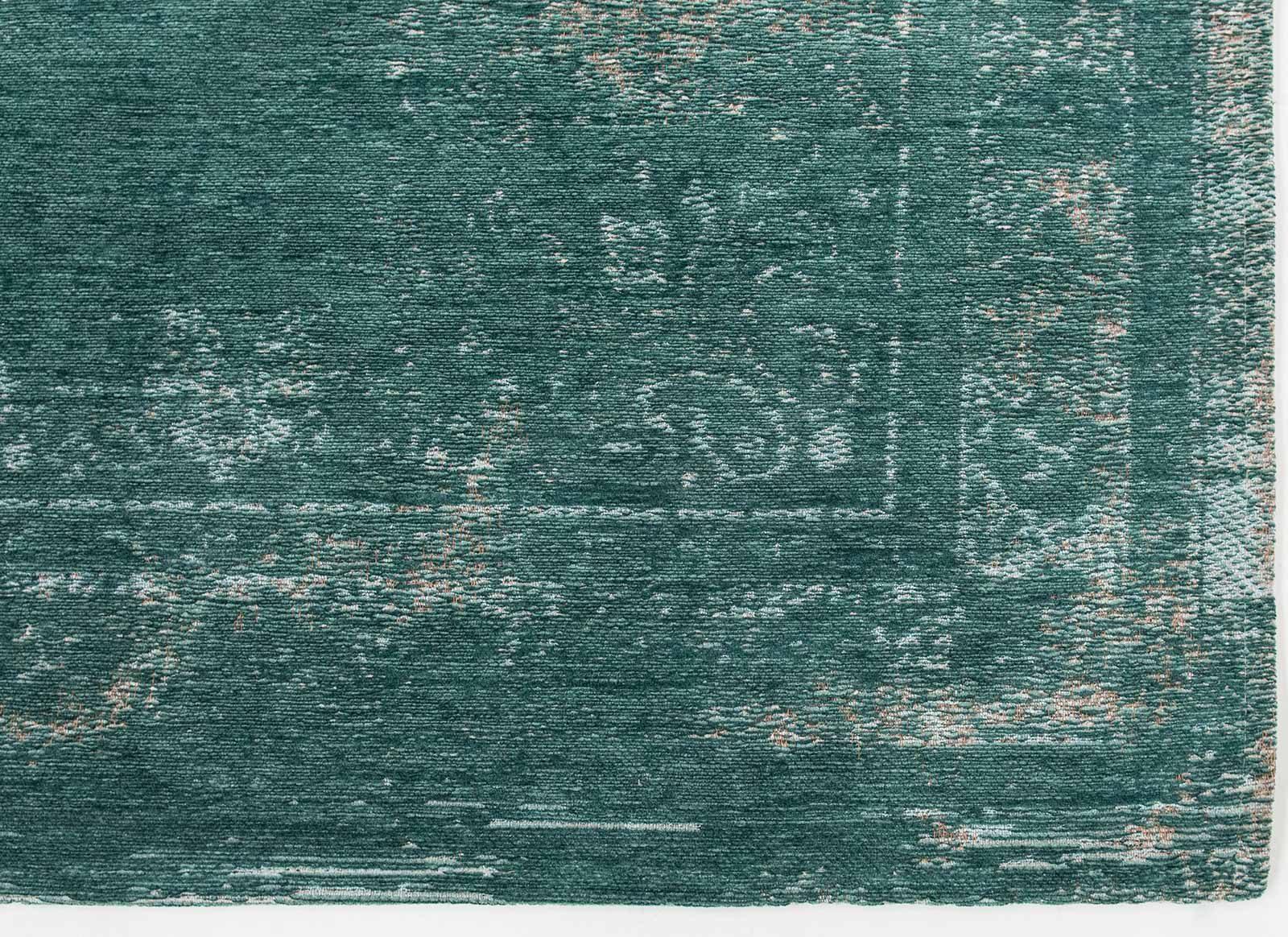 alfombras Louis De Poortere LX8258 Fading World Medaillon Jade corner