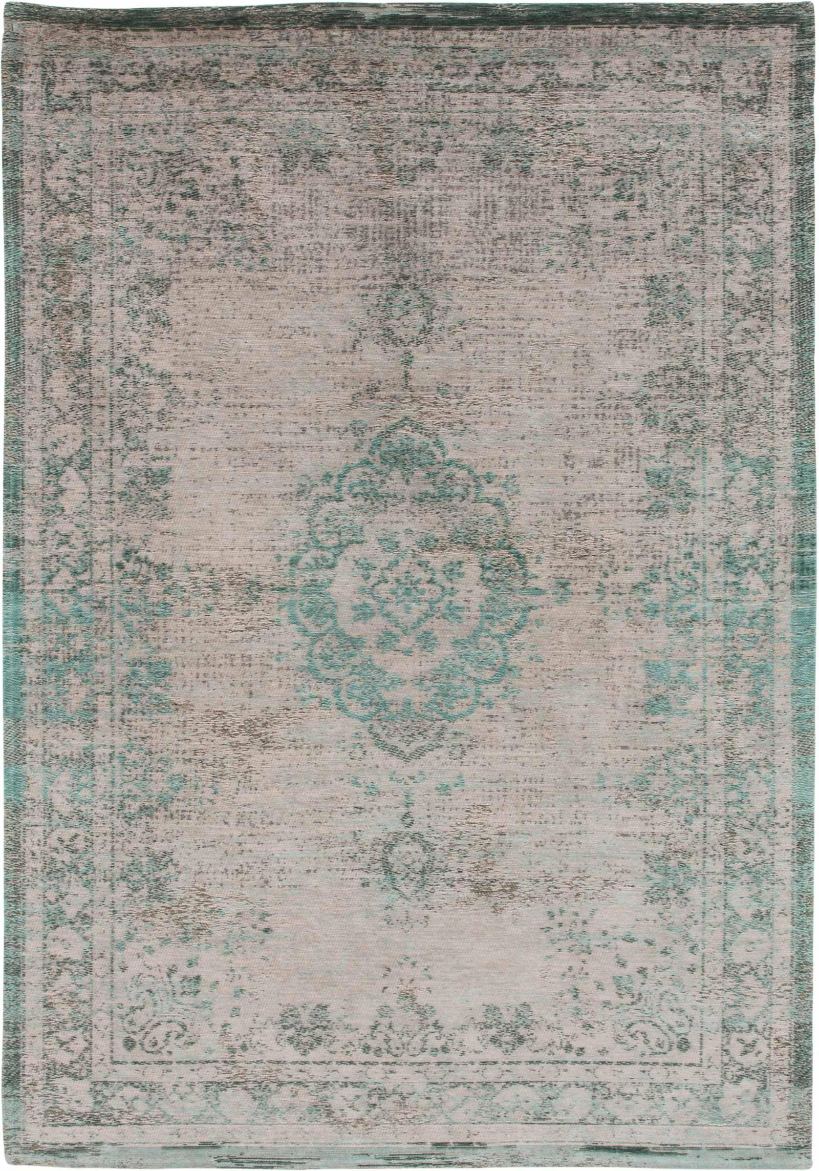 alfombras Louis De Poortere LX8259 Fading World Medaillon Jade Oyster