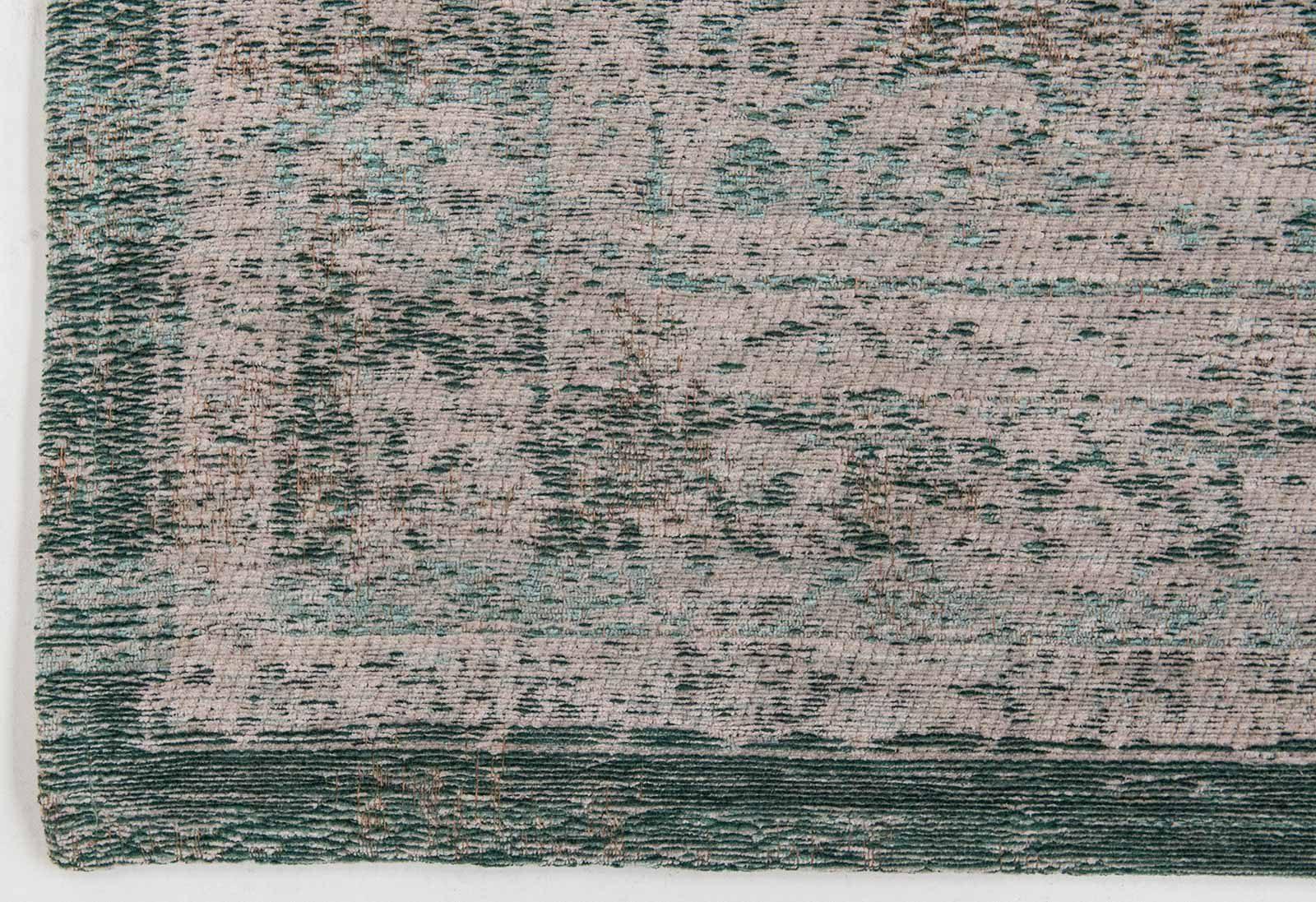 alfombras Louis De Poortere LX8259 Fading World Medaillon Jade Oyster corner