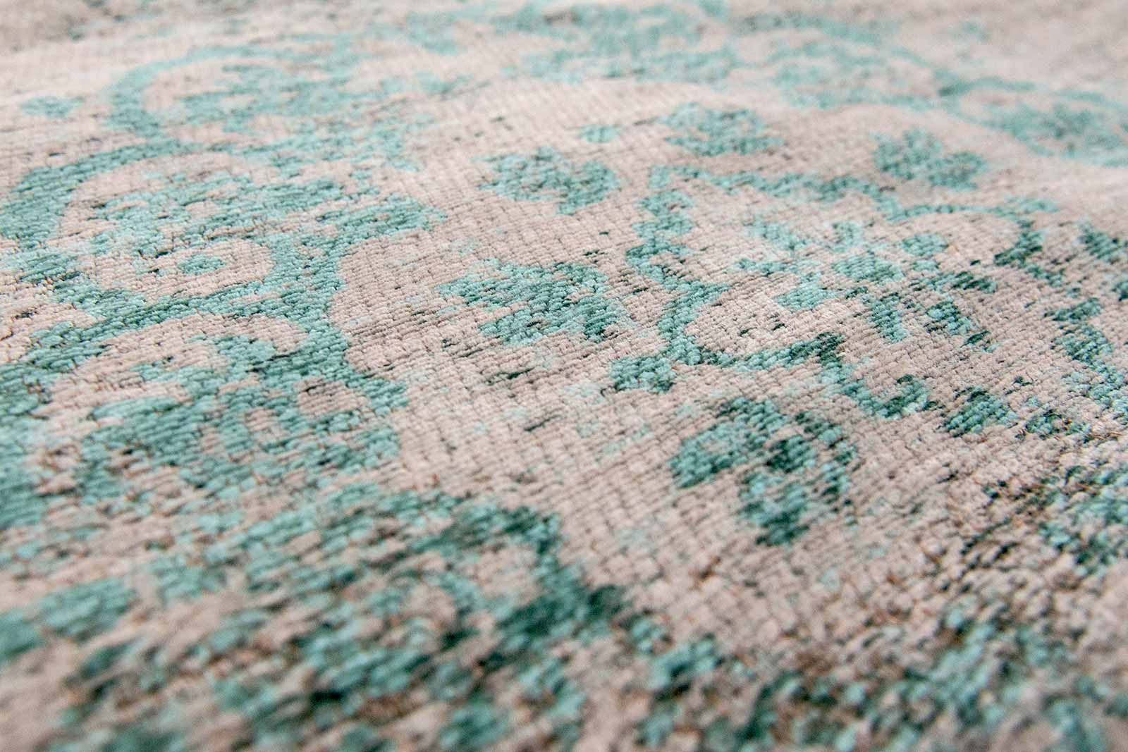 alfombras Louis De Poortere LX8259 Fading World Medaillon Jade Oyster zoom