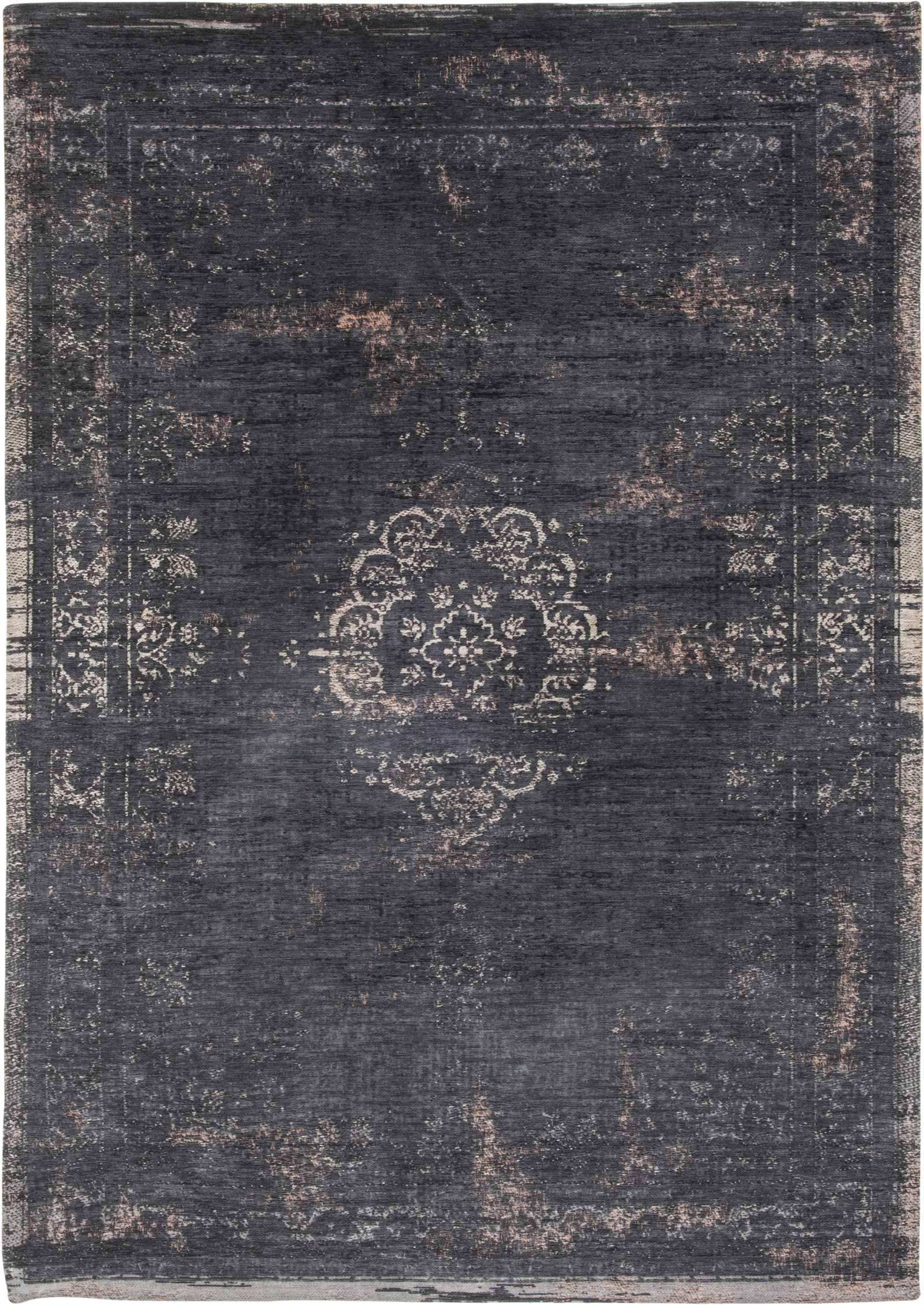 alfombras Louis De Poortere LX8263 Fading World Medaillon Mineral Black