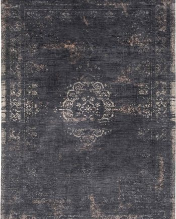 alfombras Louis De Poortere LX8263 Fading World Medaillon Mineral Black