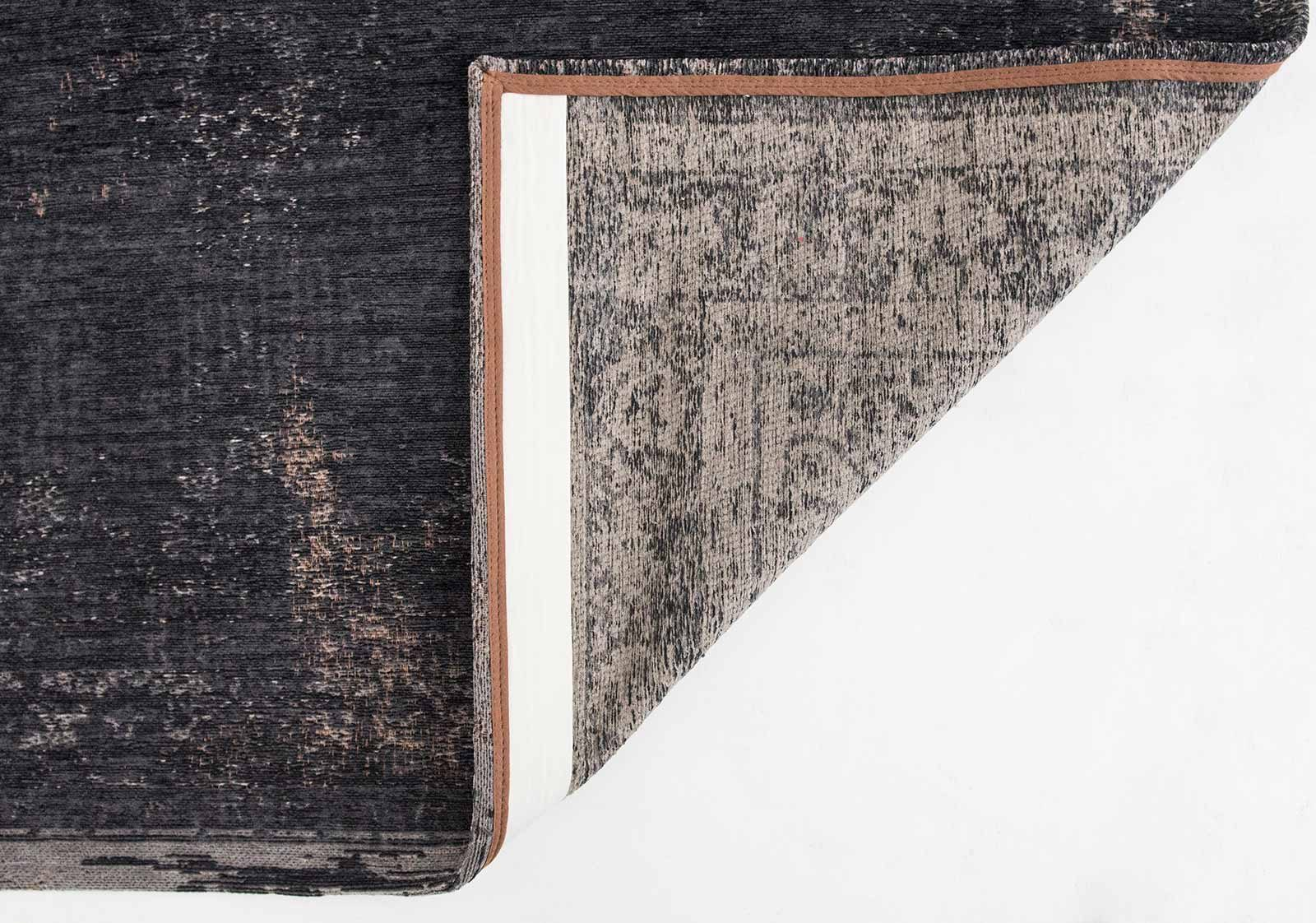 alfombras Louis De Poortere LX8263 Fading World Medaillon Mineral Black back