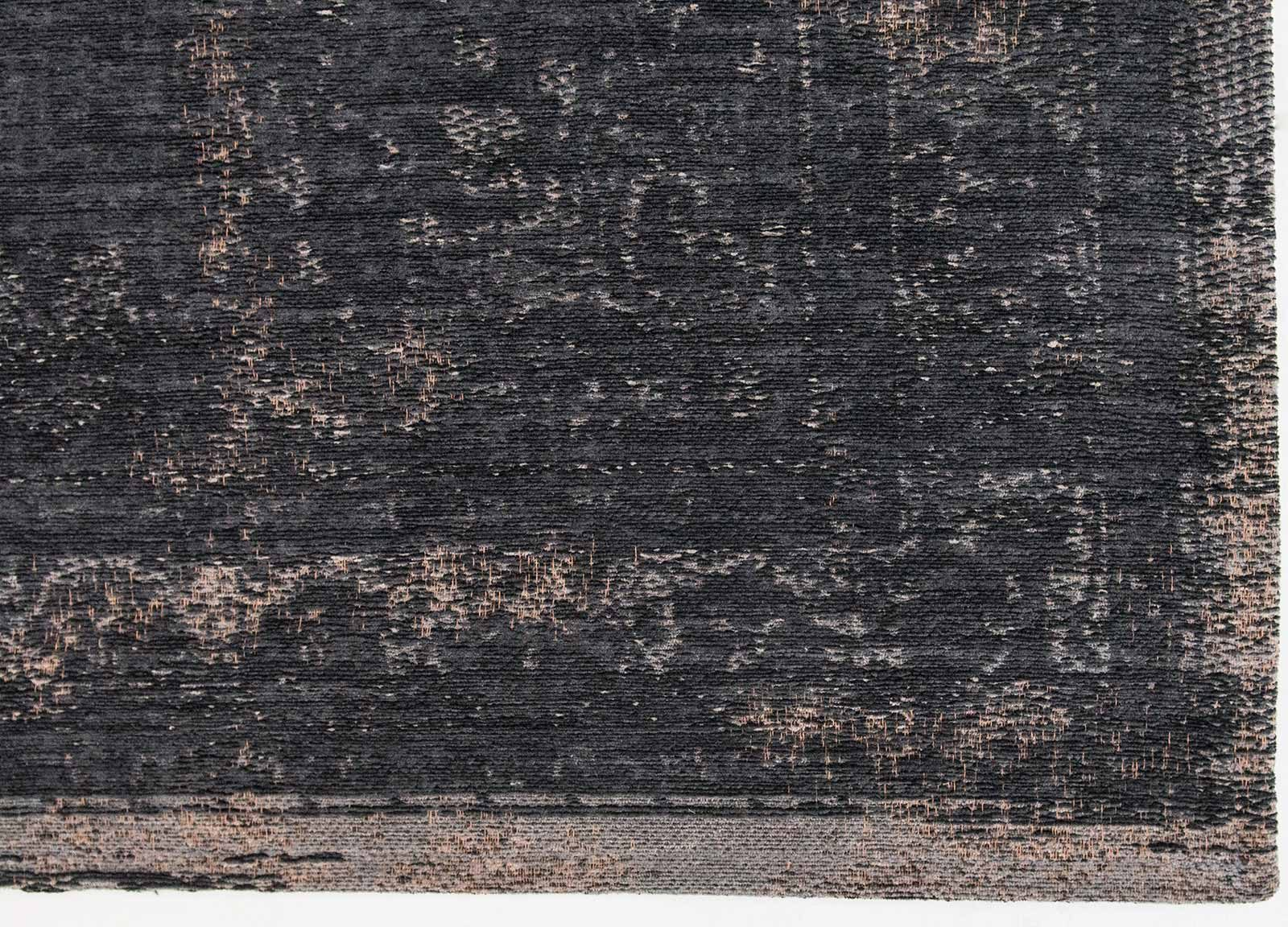 alfombras Louis De Poortere LX8263 Fading World Medaillon Mineral Black corner
