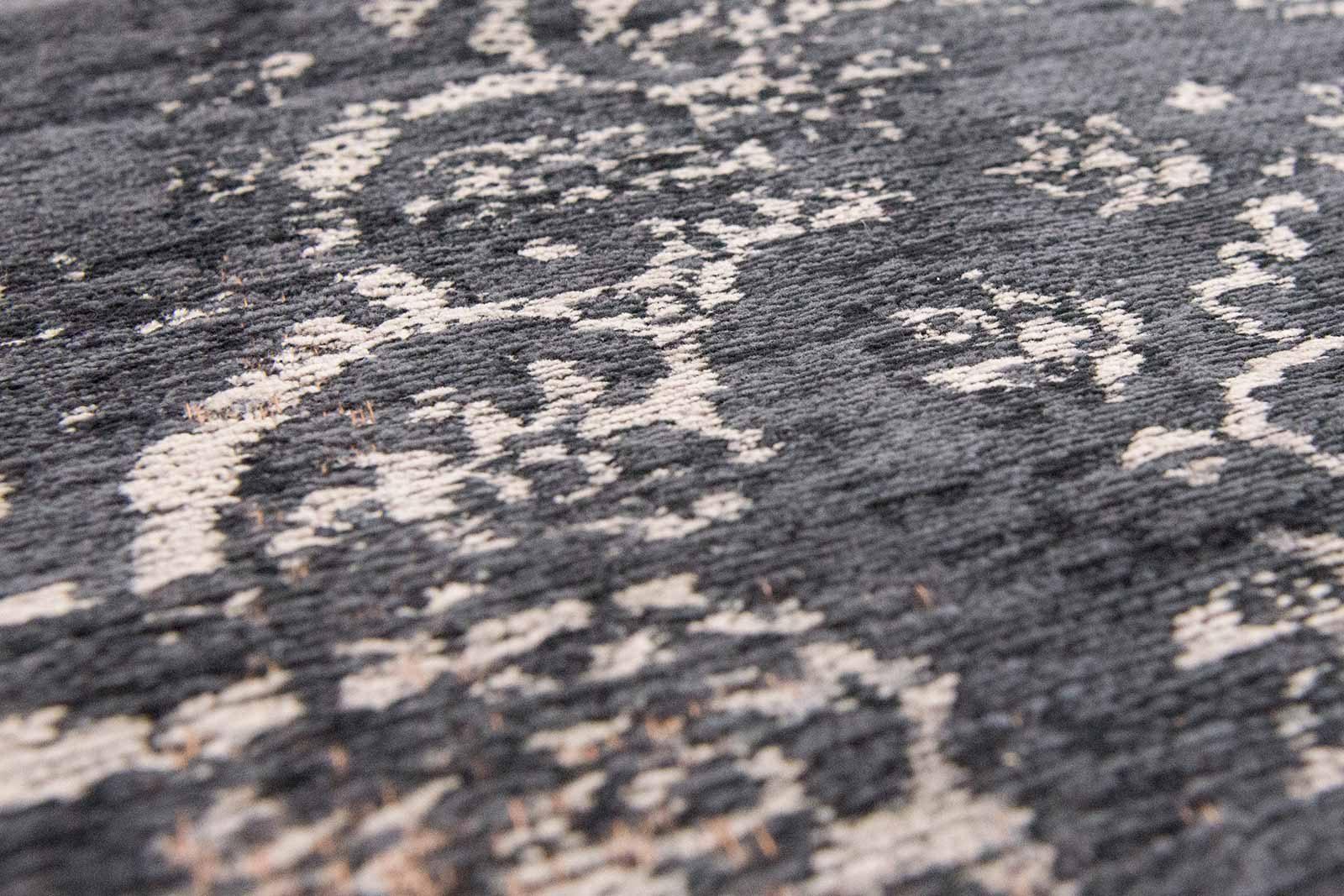 alfombras Louis De Poortere LX8263 Fading World Medaillon Mineral Black zoom