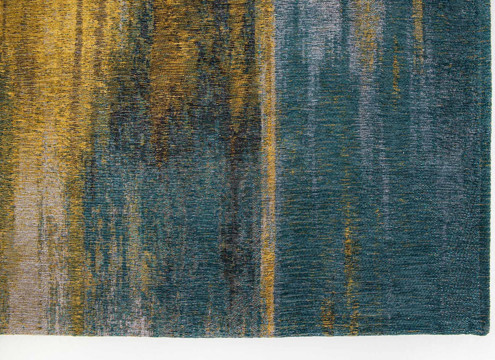 Louis De Poortere alfombra LX 9119 Atlantic Monetti Nymphea Blue corner