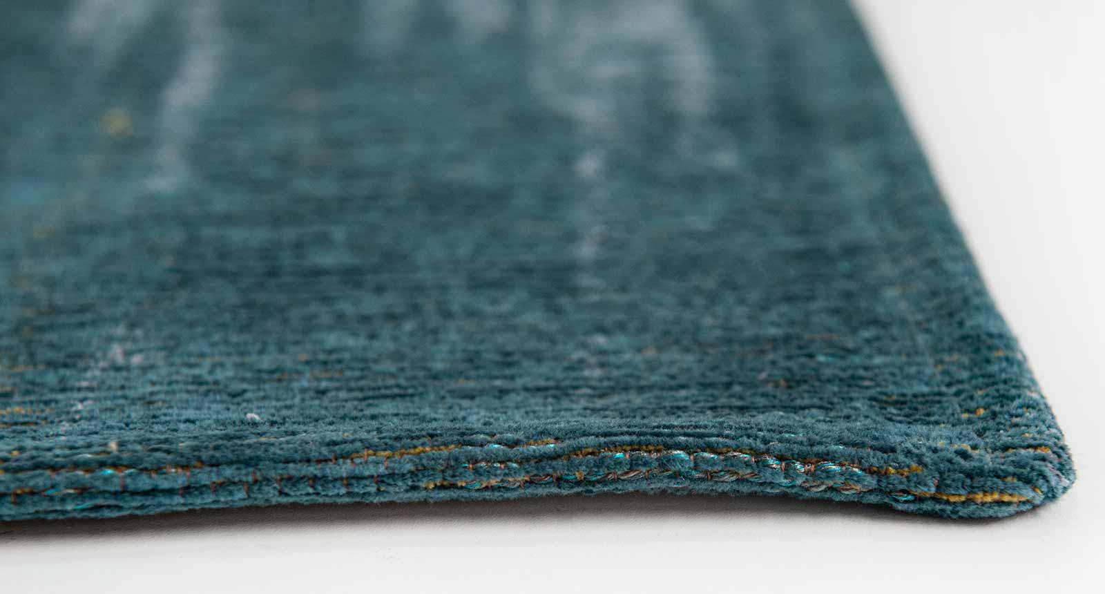 Louis De Poortere alfombra LX 9119 Atlantic Monetti Nymphea Blue side