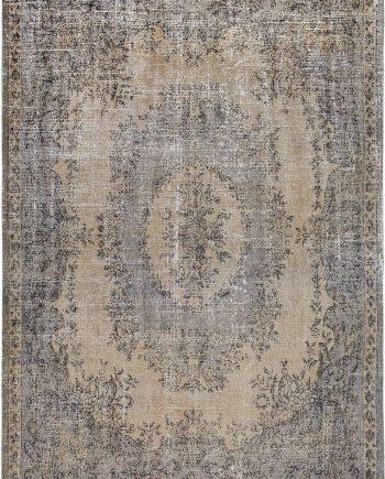 Louis De Poortere alfombra LX 9138 Palazzo Da Mosta Colonna Taupe