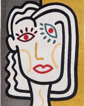 Louis De Poortere alfombra LX 9143 Gallery Dora Dorado