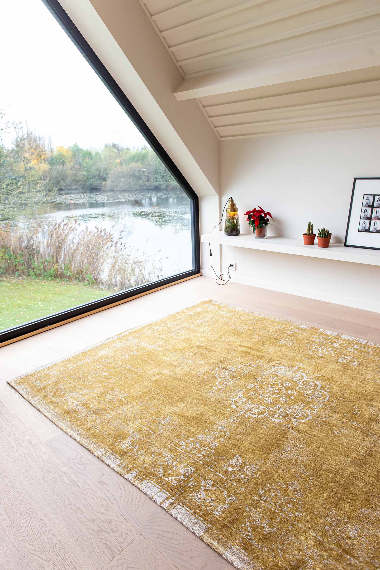 Louis De Poortere alfombra LX 9145 Fading World Spring Moss interior 10
